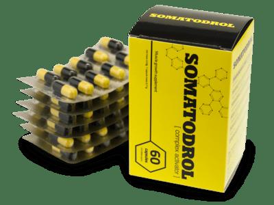 kosttillskott Somatodrol hur fungerar, kommentarer, tillverkare, apotek
